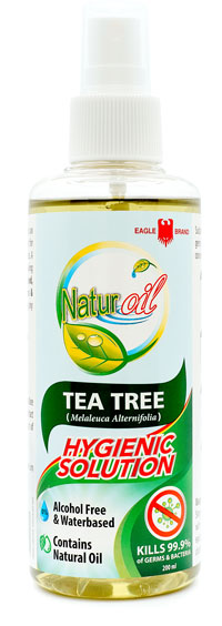 Eagle Brand Naturoil Tea Tree Hygienic Solution