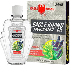 Eagle Brand Medicated oil (aromatic)
