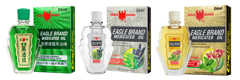 Eagle Brand Medicated Oil packs